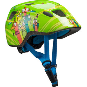 Cube Pebble Helm Juniors green friends